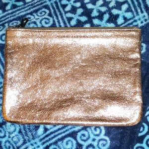 Marc Jacobs Rose Gold Leather Bag